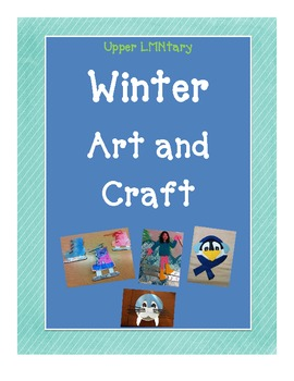 Winter Art Craft Activity Fun Cute, Easy, Kid Friendly, Cheap!