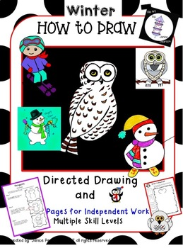 Winter Art  Directed Drawing