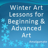 Winter Art Lesson Bundle Pack