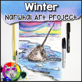 Winter Art Project, Narwhal