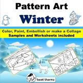 Winter Art Project, Pattern Art/Pop Art