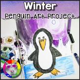 Winter Art Project, Penguin