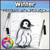 Winter Art Project, Penguin Chick
