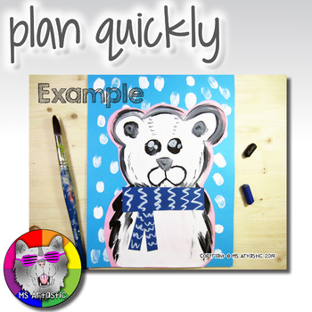 Winter Art Project, Polar Bear