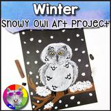 Winter Art Project, Snowy Owl