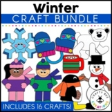 Winter & Arctic Animal Cut and Paste Set