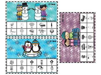 Winter Artic & Lang Activities BUNDLE