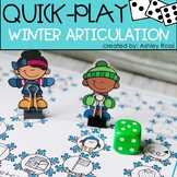 Winter Articulation - A Quick Play Game