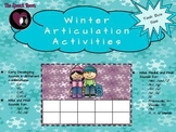 Winter Articulation Activities (Task Box Size)
