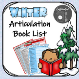 Winter Articulation Book Lists: Color and B&W