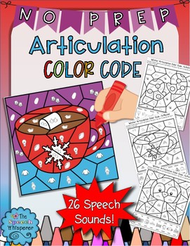 Winter Articulation Color Code