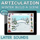 Winter Articulation Create Fun Scenes Later Developing Sou