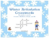 Winter Articulation Crosswords