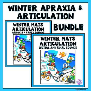 Winter Articulation Dough Mat BUNDLE