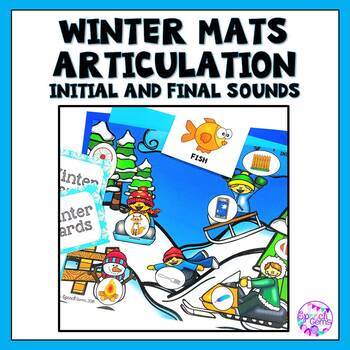 Winter Articulation Dough Smash Mats
