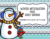 Winter Articulation {Early Sounds}