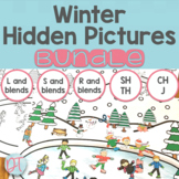 No Prep Winter Articulation Activities for Speech Therapy | BUNDLE
