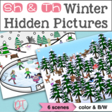No Prep Winter Articulation Activity for Speech Therapy | SH & TH