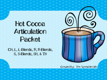 Winter Articulation - Hot Cocoa Theme