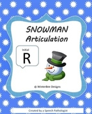 Winter Articulation Initial R