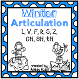 Winter Articulation - No Prep: Later Sounds
