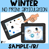 Winter Articulation No Print- /R/ Sample