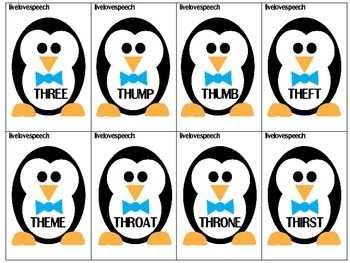 "Winter Articulation ""TH"" {FREEBIE}"