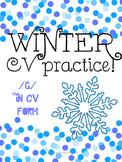 Winter Articulation /g/