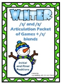 Winter Articulation /s/ and /z/ BUNDLE