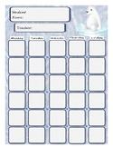 Winter Attendance Sheet