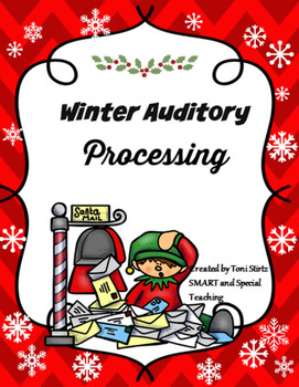 Winter Phonemic Awareness and Following Directions Games Pack