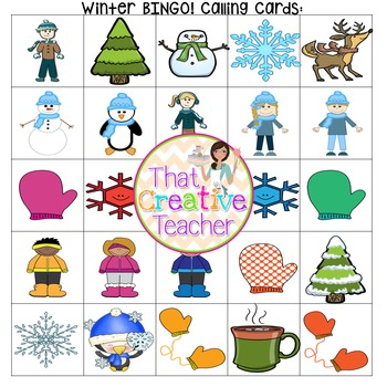 Winter BINGO!