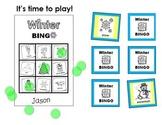 Winter BINGO Activity (for Kindergarten to Grade 3)