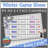 Winter BOOM Cards™ - Game Show for Pre-K and Early Elementary