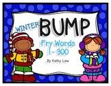 Winter BUMP - Sight Words