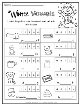 Winter BUNDLE {Kindergarten}