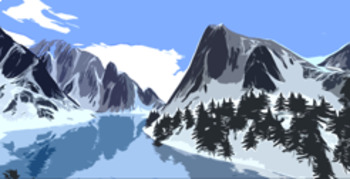 Winter Backgrounds/ Clip Art Bundle