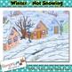 Winter Backgrounds Clip art