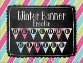 Winter Banner Freebie