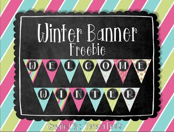 Winter Banner Freebie