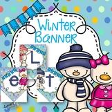 Winter Banner: Let It Snow!