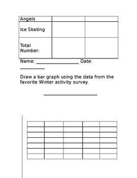 Winter Bar Graph Lesson