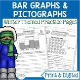 Winter Bar Graphs & Pictographs | Winter Digital Math