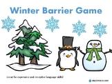 Winter Barrier Game