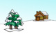 Winter Barrier Game for Spatial and Qualitative Concepts