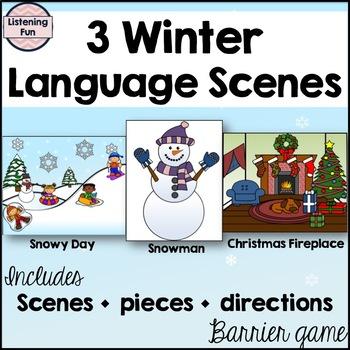 Winter Language Scenes Game