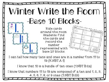 Winter Base 10 Around the Room