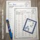 Winter Math Addition Basic Facts Task Cards and Recording Sheets