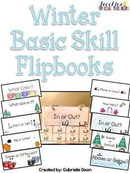 Winter Basic Skill Flipbooks