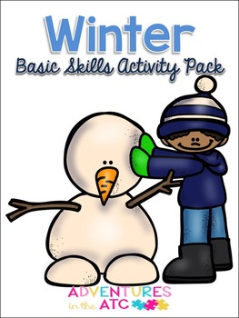 Winter Basic Skills Mega Activity Pack